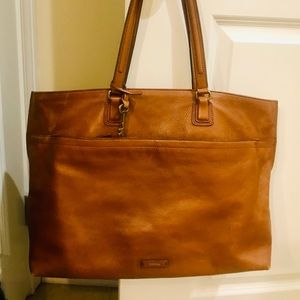 FOSSIL ( ALL LEATHER) TOTE BAG